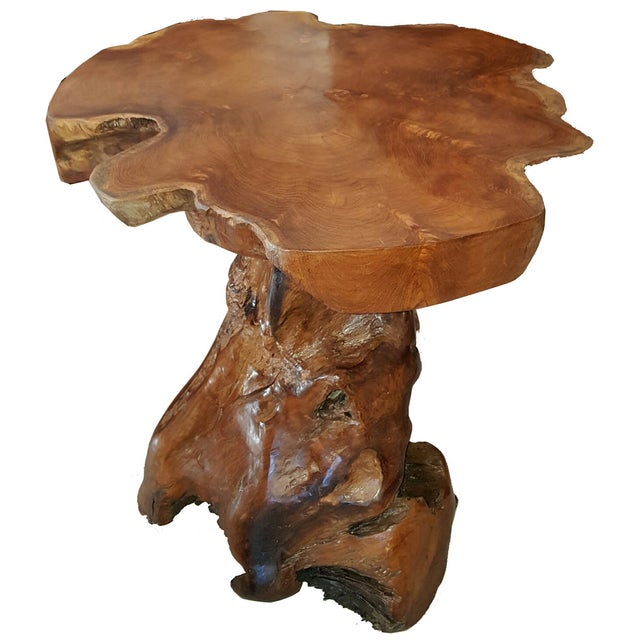 Live Edge Root Side Table - Image 5 of 8