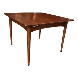 Vintage Mid-Century Modern Solid Walnut Side Table or Coffee Table For Sale