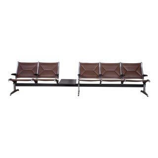 Eames for Herman Miller Seating System in Brown For Sale