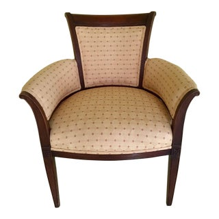 Upholstered Vintage Side Accent Chair