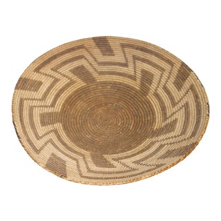 Antique Pima Native American Basket For Sale