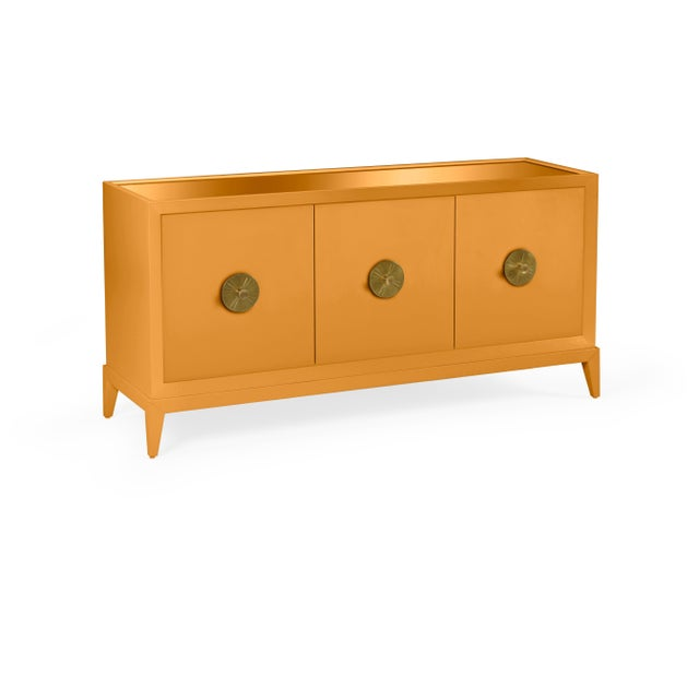 Transitional Casa Cosima Hayes Sideboard, Dash of Curry For Sale - Image 3 of 5