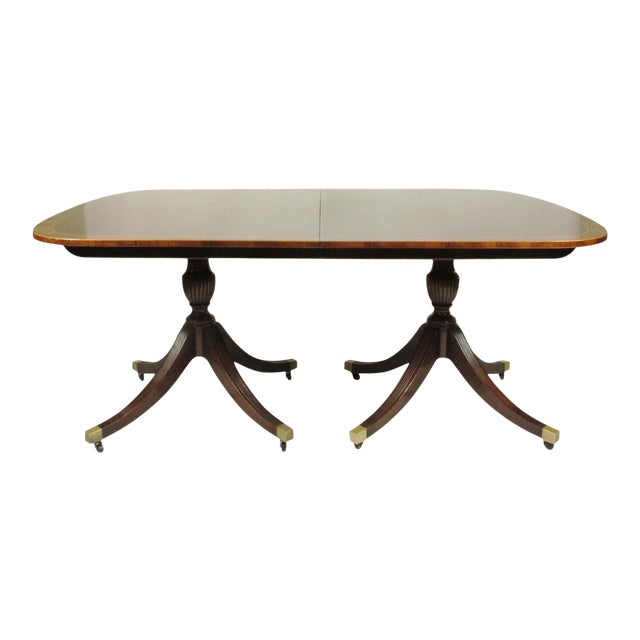 English Regency-Style Dining Table For Sale