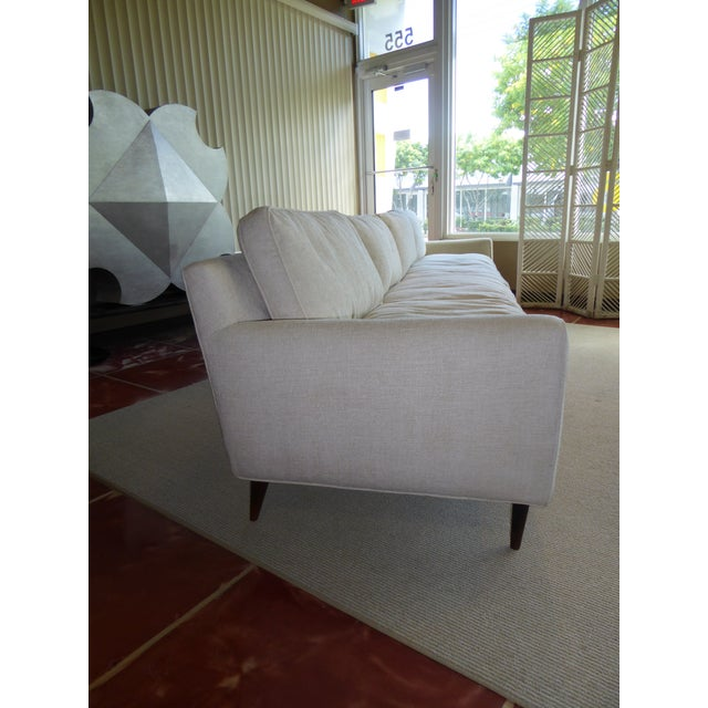 Gio Ponti Bespoke Mid-Century Sofa by Singer & Sons, 1957 For Sale In Miami - Image 6 of 12