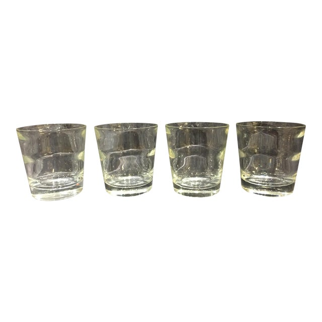 Low Ball Glasses by Tiffany & Co - Set of 4 For Sale