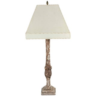 1920s Italian Marble Table Lamp For Sale