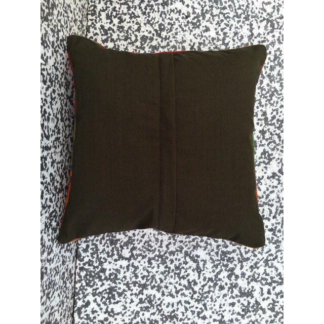 Turkish Kilim Pillow Cover - Image 5 of 5