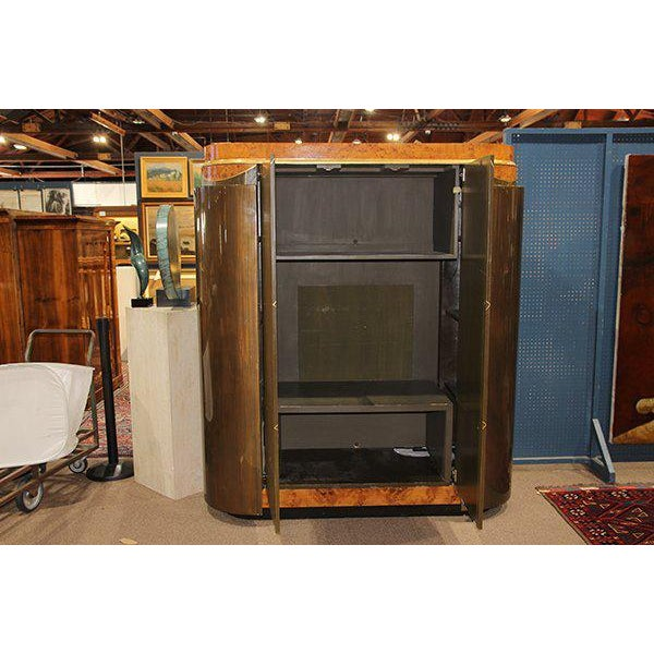 Leavitt Weaver Art Deco Wardrobes, 2 Available For Sale In Los Angeles - Image 6 of 8
