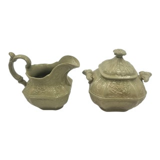 Creamer and Pitcher Drabware