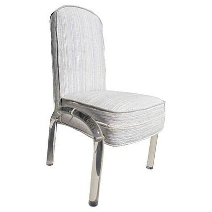Desk Chair With Lucite Legs - Image 1 of 5