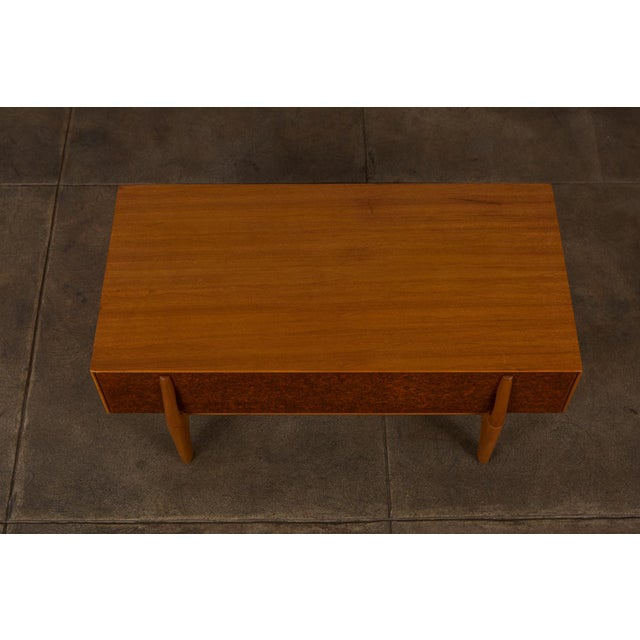 1950s Single Bench With Storage by John Keal for Brown Saltman For Sale - Image 5 of 12