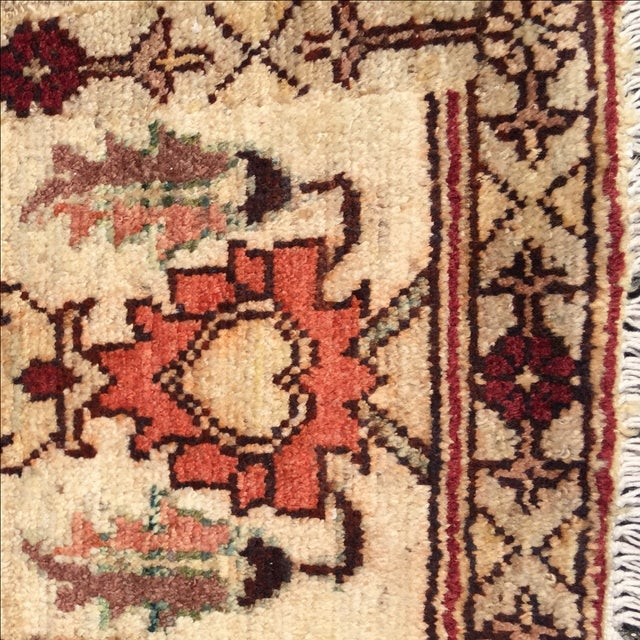 Sultanabad Persian Rug - 1′4″ × 1′11″ - Image 4 of 10