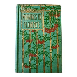 John Ruskin Mornings in Florence Fine Binding Pub. h.m. Caldwell Ny C.1900 For Sale