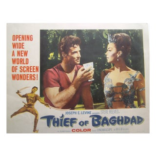 "1961 ""Thief of Baghdad"" Lobby Card - 8 Piece Set"