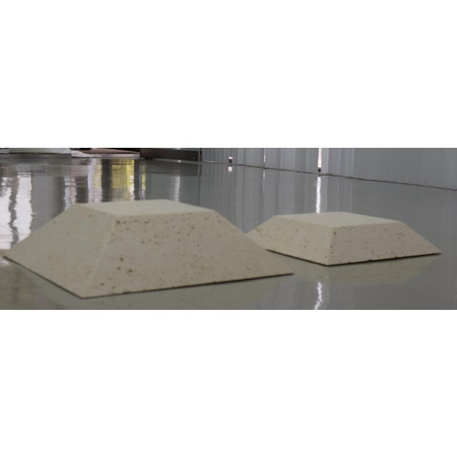Modern Bases for Sculptures - a Pair For Sale - Image 4 of 4