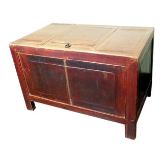 Antique Chinese Treasure Trunk