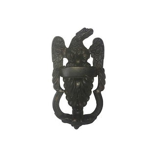 Majestic English Eagle Door Knocker For Sale