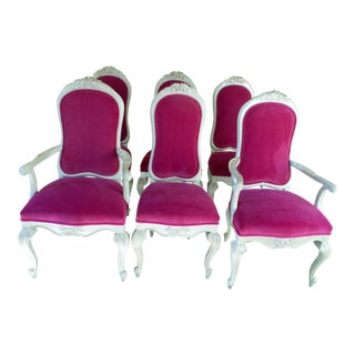 Vintage Mid Century Dining Chairs- Set of 6 For Sale