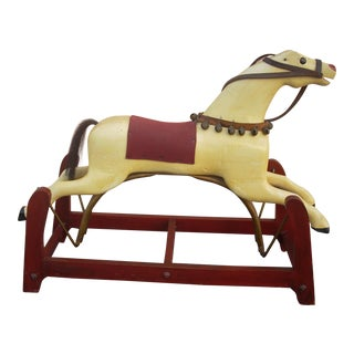 1930s Traditional Rocking Horse For Sale