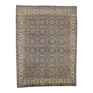 Vintage Persian Moud Mood Rug For Sale