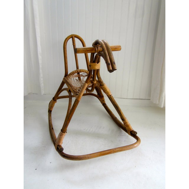 Sculptural Danish Modern Rocking Horse - Image 3 of 7