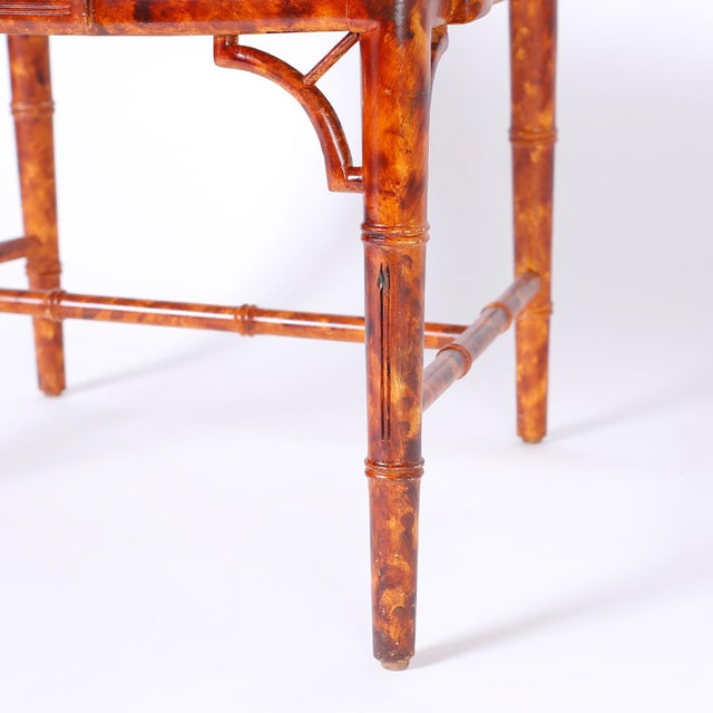 Chinese Chippendale Armchairs - Set of 4 For Sale - Image 9 of 11