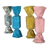 """Image of """"Candy Twists"""" Contemporary Hand Crafted Mosaic Sculptures - Set of 4 For Sale"""