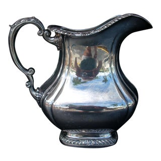 Gorham Silver Plate Water Pitcher For Sale