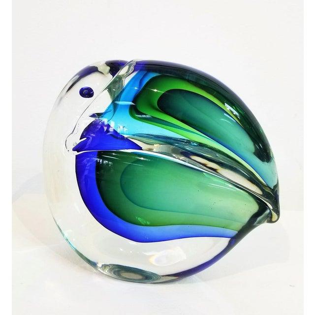 1960s 1960s Vintage Antonio Da Ros Murano Glass Toucan For Sale - Image 5 of 9