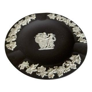 "Wedgwood Jasperware Black Dish - 4.5"" For Sale"