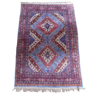 East Turkestan Khotan Carpet - 6′1″ × 8′10″ For Sale