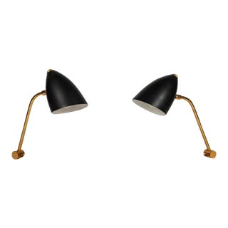 Pair of 1950s Finnish Table Lamps Attributed to Mauri Almari For Sale