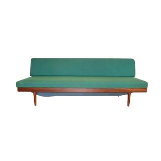 Norwegian Mid Century Teak Daybed Sofa Edvard Kindt Larsen for Gustav Bahus For Sale