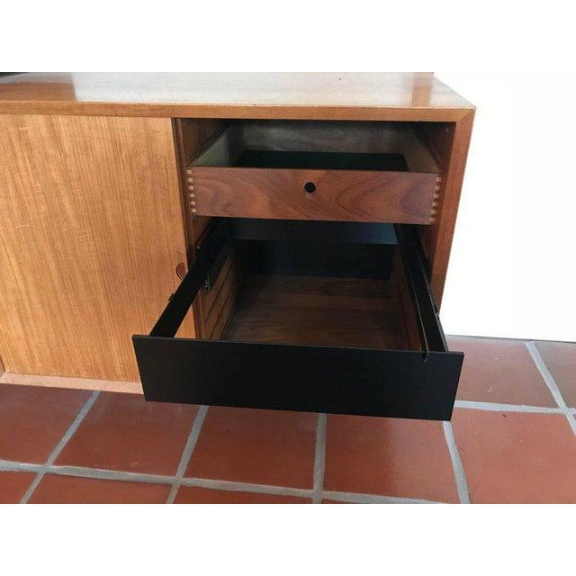 "Danish Modern 1960s Danish Poul Cadovius ""System Cado"" Teak Floating Modular Wall Shelf System For Sale - Image 3 of 13"