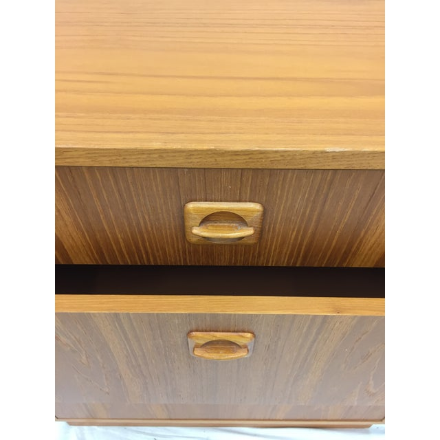 Mid 20th Century Vintage Danish Modern Chest For Sale - Image 5 of 9