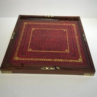 Antique Campaign Lap Writing Desk Preview