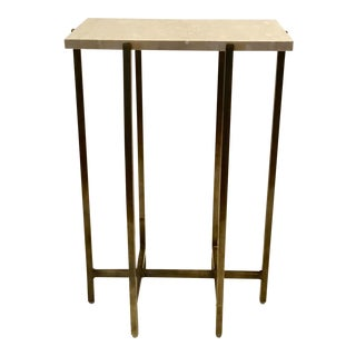 Contemporary Interlude Home Zahara Rectangular Drink Table