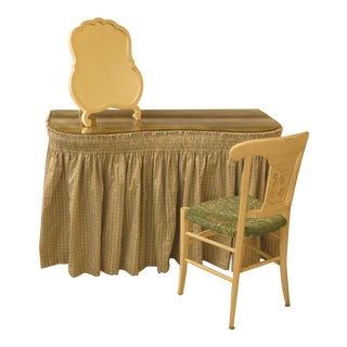 Hollywood Regency Style Vanity Set-Set of 3 For Sale