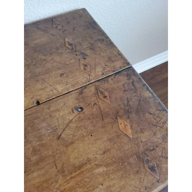 18th Century 18th Century Rustic Spanish Colonial Low Table For Sale - Image 5 of 11