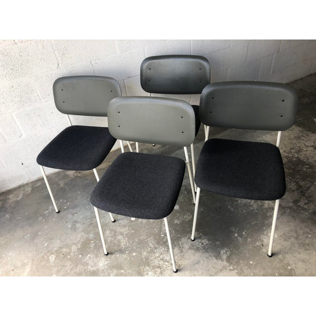 Preowned Hay Iskos-Berlin's Soft Edge Stackable Chairs -Set of Four For Sale - Image 13 of 13