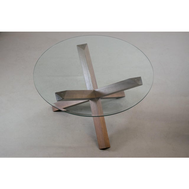 Sculptural Cerused White Oak Dining Table Attributed to Ralph Lauren - Image 6 of 11