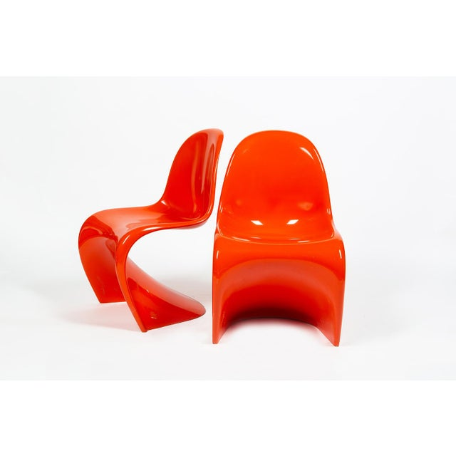Orange Verner Panton S-Chair For Sale - Image 11 of 12