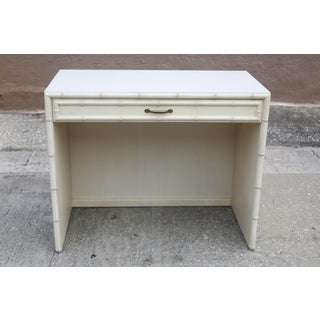 Vintage Dixie Faux Bamboo Writing Desk Preview