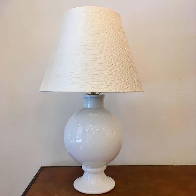 Glass Orrefors 1970s Swedish Glass Table Lamps - A Pair For Sale - Image 7 of 9