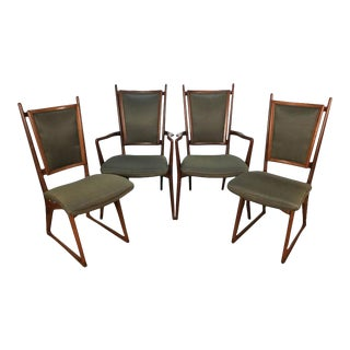Vladimir Kagan Dining Chairs - Set of 4