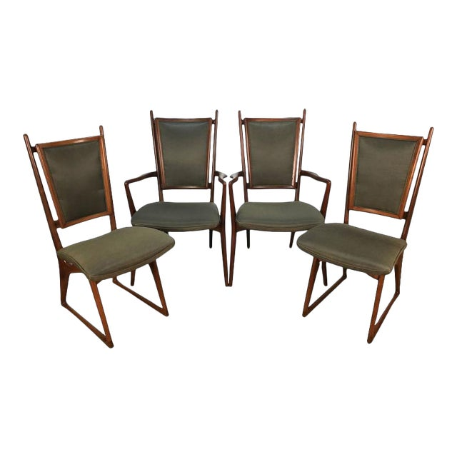 Vladimir Kagan Dining Chairs - Set of 4 For Sale