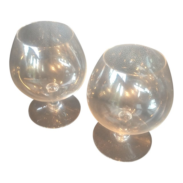 """Baccarat """"Perfection"""" Brandy Snifters - a Pair For Sale"""