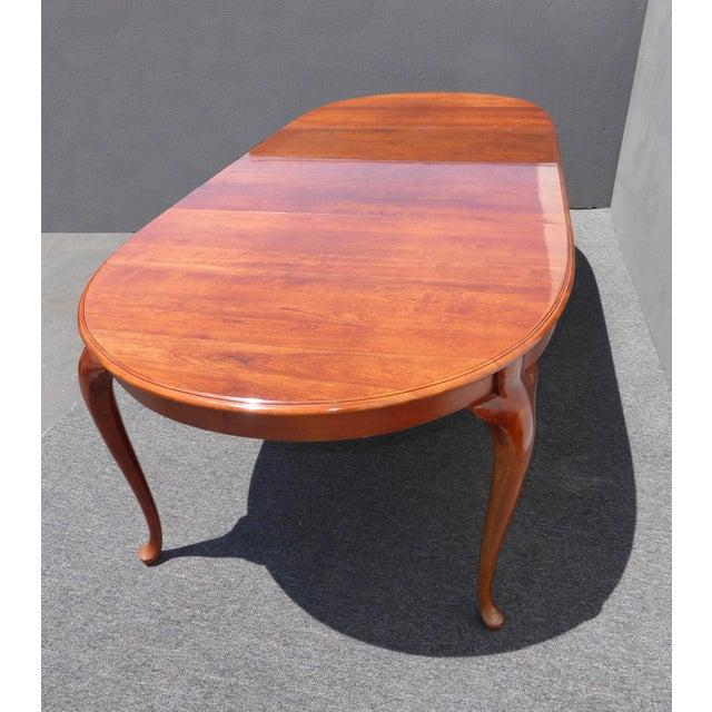 American of Martinsville Dining Room Table - Image 5 of 11