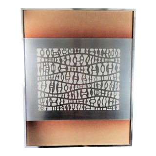 1970s Etched Metal Art by David Michael Co. For Sale