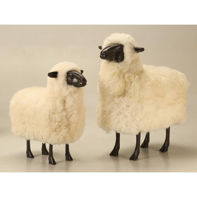 Baby Lamb Hand Made by Old Plank Collection For Sale - Image 10 of 11